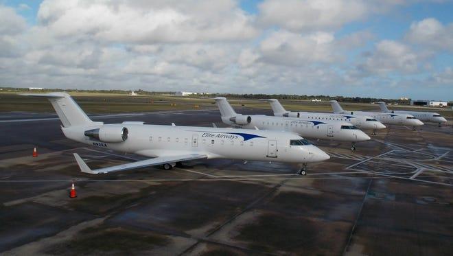 Elite Airways jets