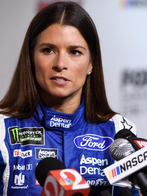 Danica Patrick's best finish through the first eight Cup races is 17th.