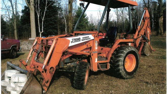 Police are looking for information about a tractor stolen out of Kimball Township.
