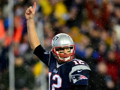 New England Patriots quarterback Tom Brady will prepare Peyton Manning again in the AFC Championship Game.