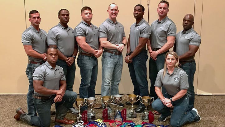 MDWFP officers take top spot in LawFit Challenge