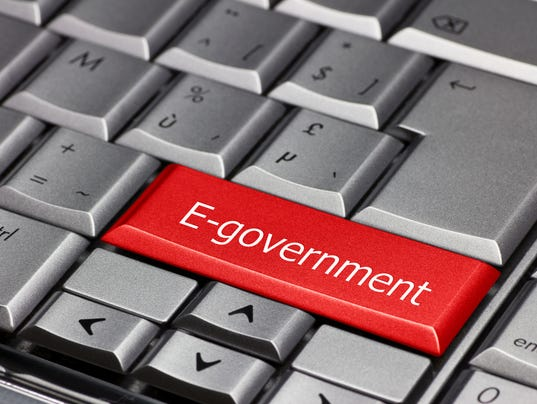 Computer key - E-government