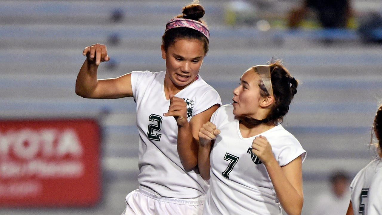 The defending state champion Green Knights are off to a hot start in 2017 thanks to star sophomore striker Annabel Anderson and a number of other young players.