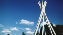 South Dakota Information Center TeePee
