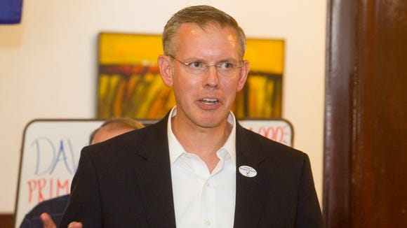Kansas Democratic congressional candidate Paul Davis