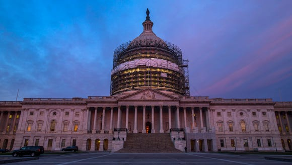 The U.S. Capitol dome on March 23, 2016.