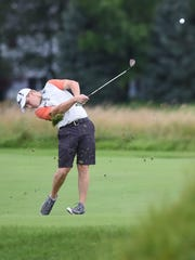 Cameron Westjohn shot a 69 at Kampen on Saturday to lead the Men's City stroke play after one round.