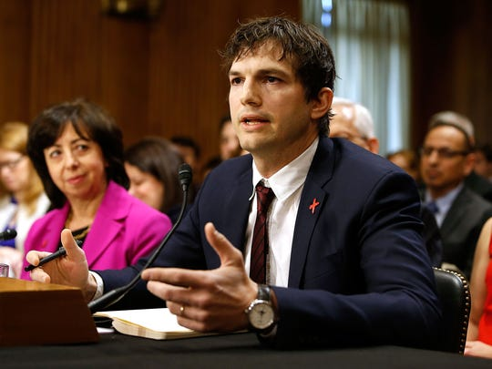 Ashton Kutcher, actor and co-founder of Thorn: Digital