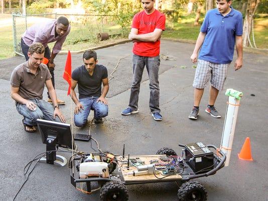 DriveAI self-driving car