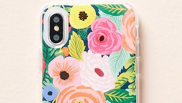 Get a beautiful floral case for your iPhone X.
