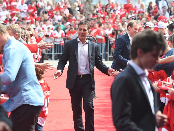 Chris Chelios has been a part of the Red Wings' organization