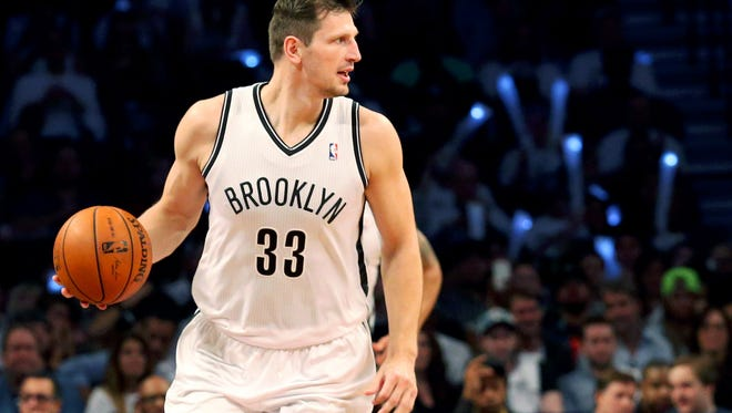 Mirza Teletovic (33) will be playing for the Milwaukee Bucks.