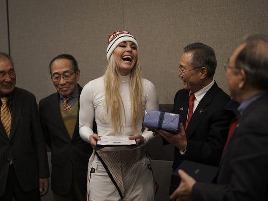 Pyeongchang Olympics Vonns Grandfather