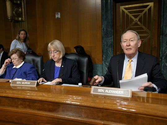 Lamar Alexander, Patty Murray, Barbara Mikulski