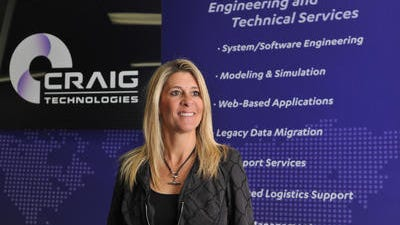 Carol Craig, founder and chief executive officer of Craig Technologies, headquartered in Cape Canaveral.