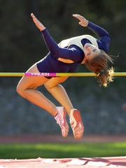 Andrea Remec competed in the high jump for Notre Dame