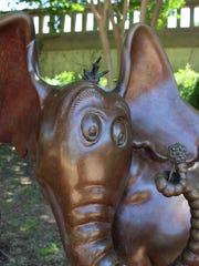 """Horton Hears a Who,"" Dr. Seuss, installed 2013. Sculptor:"