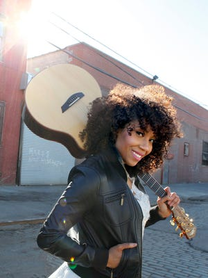 Rissi Palmer performs at Concerts on the Quad on July 16.