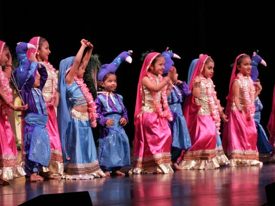 "The ""Children's Dance"" was part of the 2014 Archana,"
