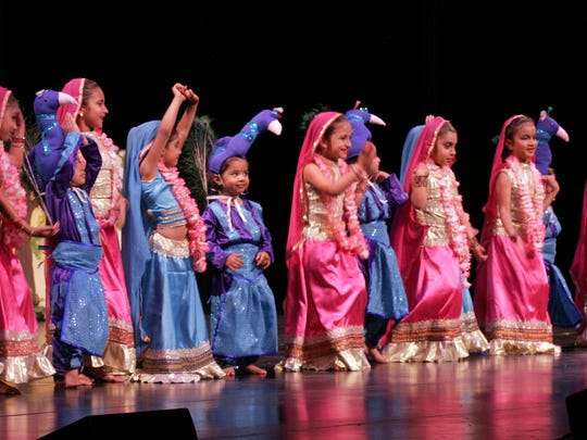 "The ""Children's Dance"" was part of the 2014 Archana, a fundraising performance sponsored by the India Friends Association to raise money for remote parts of India."