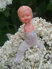 This doll was purchased by an East Lansing mother several years ago at a local thrift store.