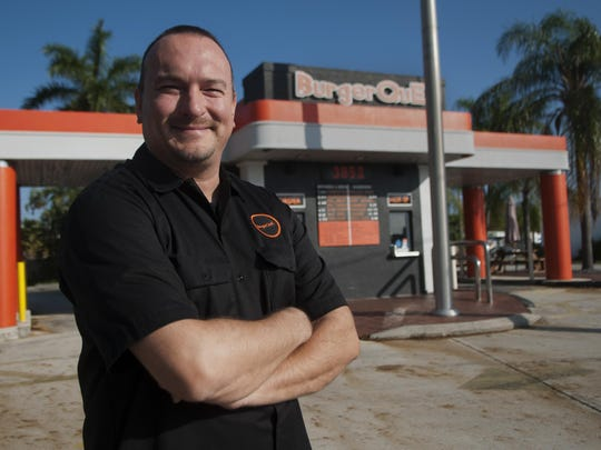 Tim Mankin opened BurgerQue in 2011, bringing stability