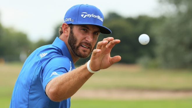 Dustin Johnson is the leader in the FedEx Cup playoffs win one event to play.