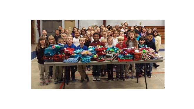 Some underprivileged children in Vineland will have a merrier Christmas as they will receive gifts collected and wrapped for them by students from Cumberland Christian School.