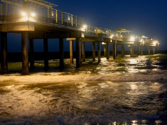 The pier at Gulf Shores shot by Jones