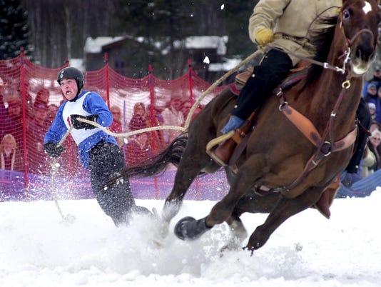 1 Skijoring