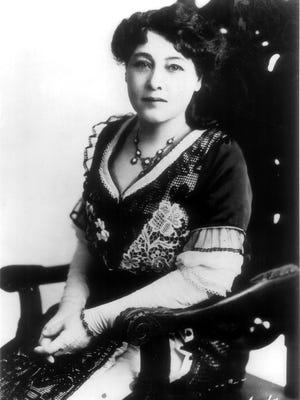 Pioneer filmmaker Alice Guy-Blaché.