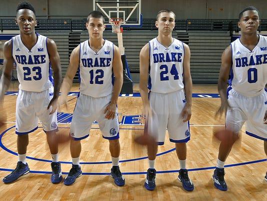 Drake men's basketball media day
