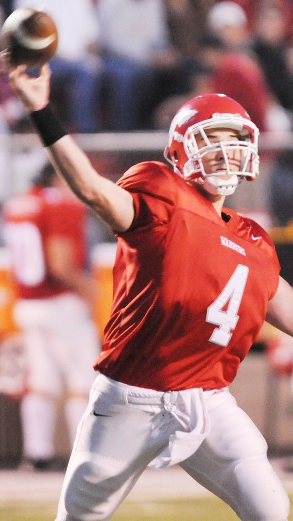 Former Erwin quarterback Robbie Nallenweg.