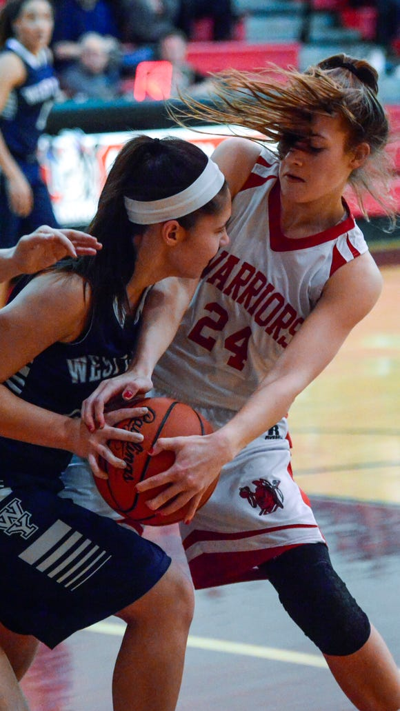 Tyler Williams (right) and Susquehannock enter as the No. 2 seed in the girls' District 3 5-A tournament. A total of four Y-A League teams made the 16-team field in the class.