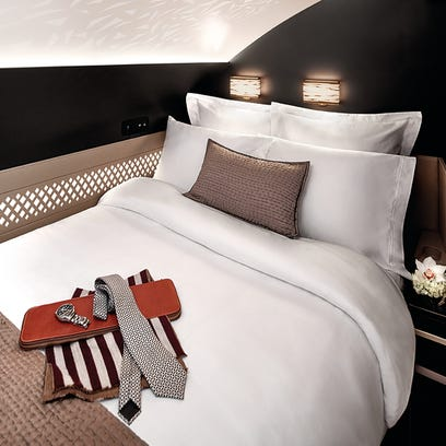 Etihad Airways rolls out luxurious bed and bath suites