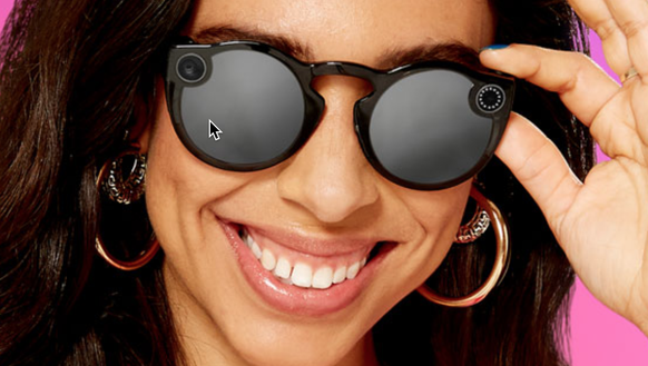 Snap's new, second edition of the Spectacles video