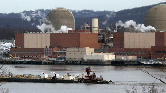 The Indian Point Energy Center nuclear power plantin Buchanan Jan. 9, 2017.