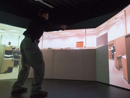 Active Shooter Simulation Training