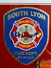 The seal of the South Lyon Fire Department.