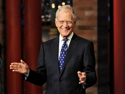 AP LATE SHOW WITH DAVID LETTERMAN A ENT USA NY