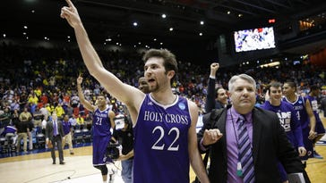 Holy Cross tops Southern for first NCAA win in 63 years