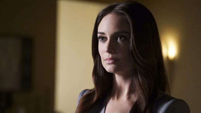 """Mallory Jansen plays Aida, a Life Model Decoy in search of the dangerous Darkhold, which allowed her to change her own programming, on """"Marvel's Agents of S.H.I.E.L.D."""""""