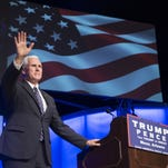 Mike Pence rally in Mesa