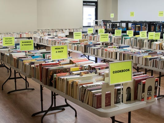 Book Sale photo, March 2016
