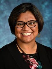 New Mexico State University student Regent Margie Vela.