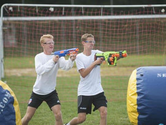 Cinnaminson High School boys varsity soccer players,