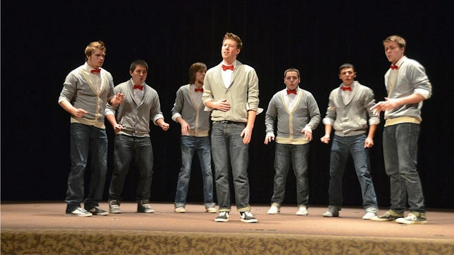 15 Miles West is a male a cappella group from Western Oregon University.