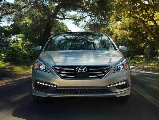 This photo provided by Hyundai shows the 2017 Hyundai