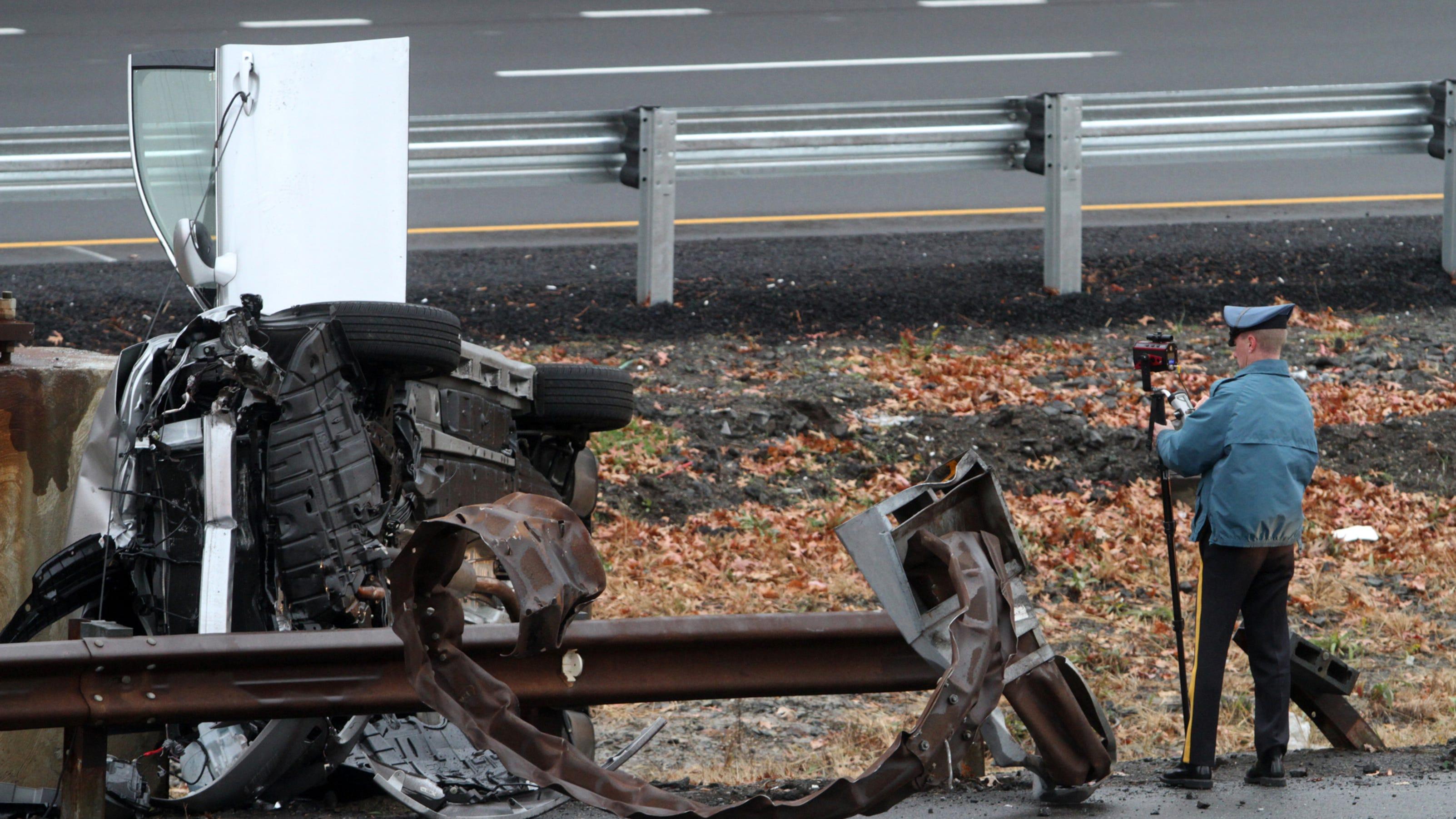 Fatal one vehicle crash on garden state parkway - Accident on garden state parkway north today ...