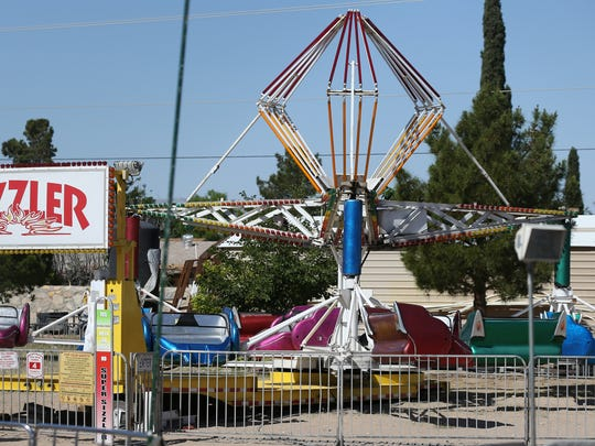 """A 16-year-old Hanks High School student, Samantha Aguilar, was killed after being ejected April 29 from the """"Sizzler"""" carnival ride, which was set up on a parking lot next to St. Thomas Aquinas Catholic Church."""